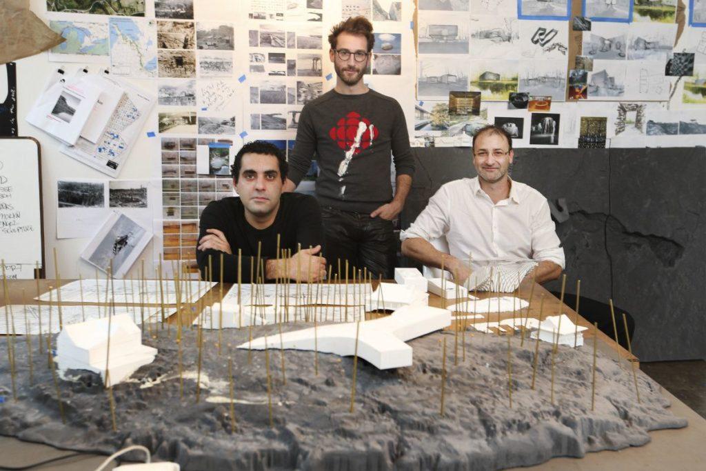 Резонансная архитектура канадской студии PARTISANS